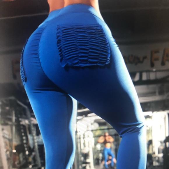 1219f0048c8 Butt lift slimming skinny high waist yoga leggings